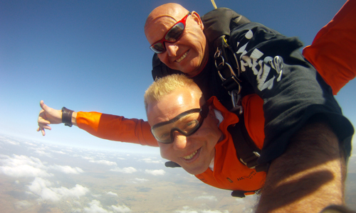 The Health Benefits of Skydiving