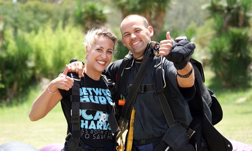 Why skydive in Parys?