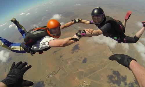 Want to Learn to Skydive Solo