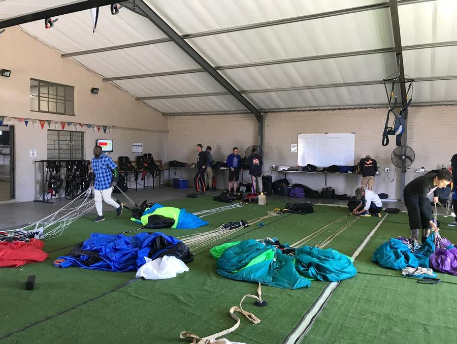 Parachute Packing Area