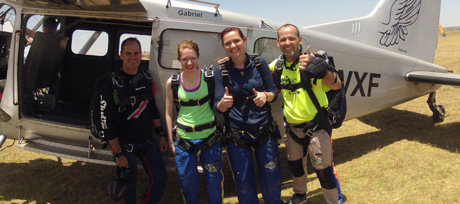 Plan Your Tandem Skydive