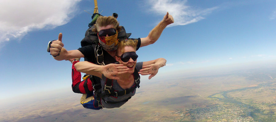 Tandem Skydiving Video Services